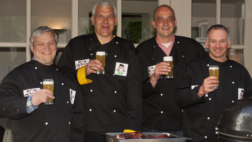 De Daltons, de gezelligste en lekkerste barbecue groep