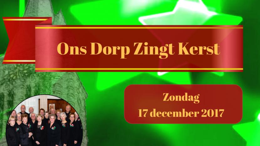 Ons Dorp Zingt (toch) kerst