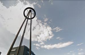 Gemeente gaat verlichting in kunstwerk op Ekkersrijt vervangen