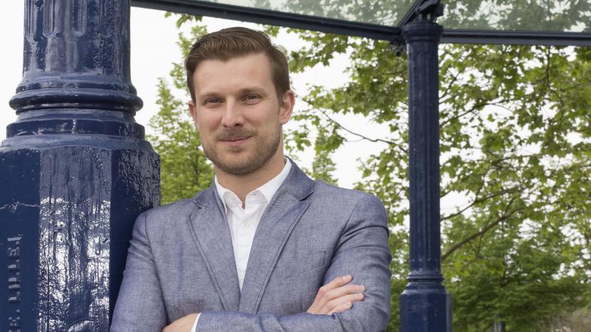 Wethouder Tom van den Nieuwenhuijzen