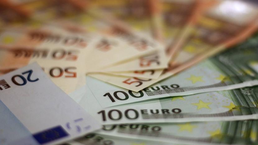Eurobiljetten van 20 euro, 50 euro en 100 euro