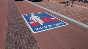 Plan: straat van Krommen Hoek tot Regenboog inrichten als fietsstraat