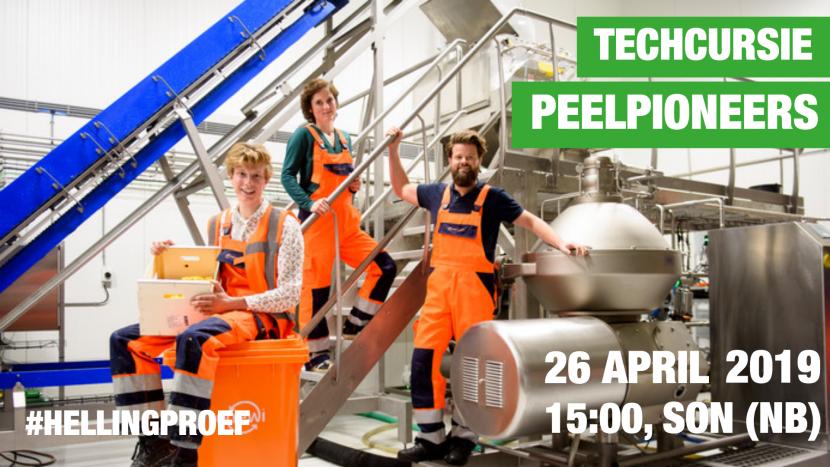 Ga mee op techcursie bij PeelPioneers met Hellingproef