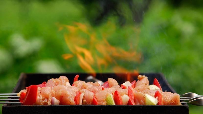 samira barbecue afvalrace