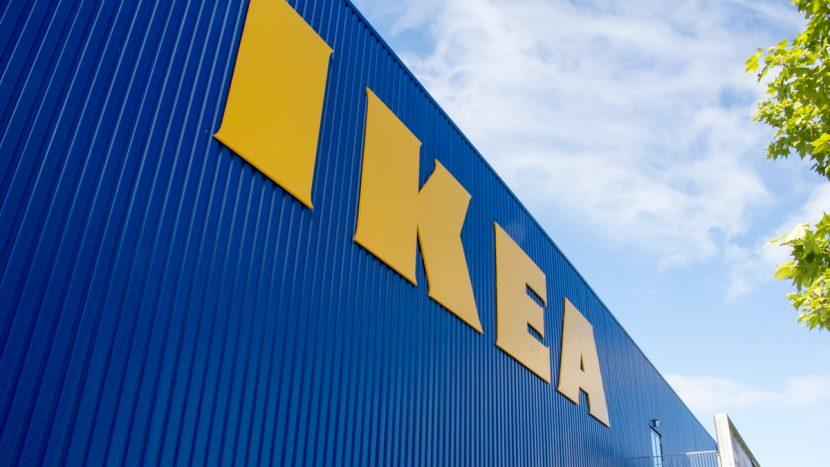 De gevel van IKEA Son