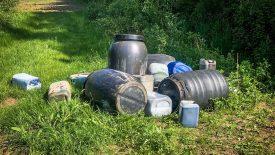Vermoedelijk drugsafval gevonden aan de Brouwerskampweg