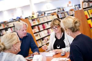 Bibliotheek start eerste keer de Week van de Leesclub