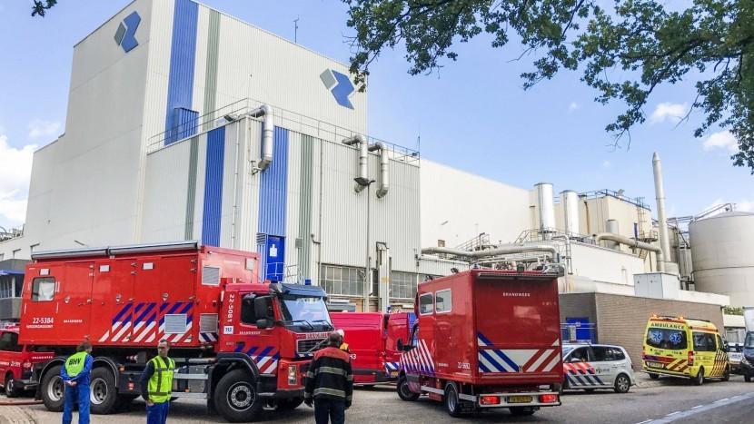 Zeer grote brand richt schade aan bij Rendac