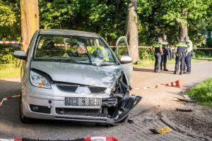 Twee zwaargewonden op Eindhovenseweg na aanrijding