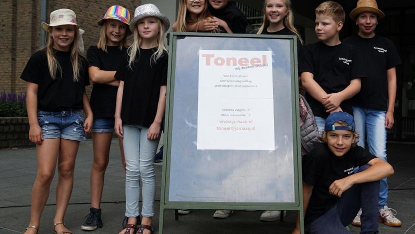 Start nieuw toneelseizoen bij jongerencentrum Oase